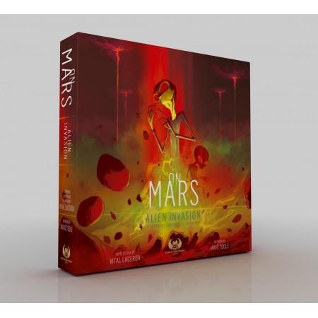 On Mars: Alien Invasion