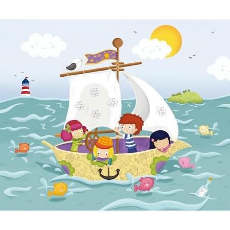 Statek - puzzle ekologiczne