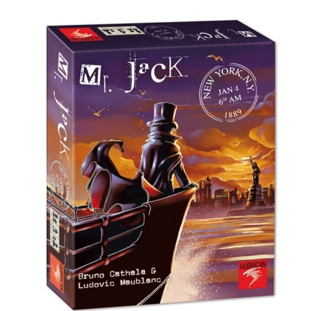 Mr. Jack in New York opakowanie zbiorcze 7 sztuk