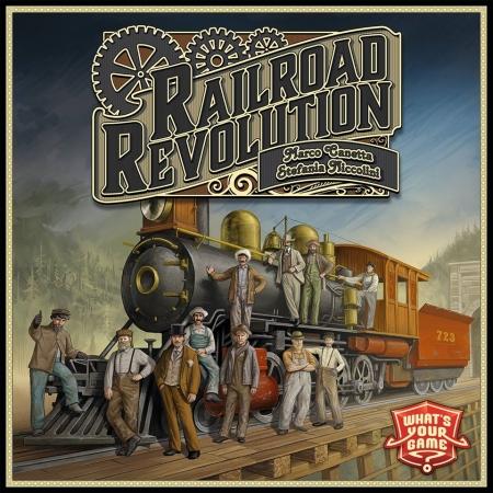 Railroad Revolution opakowanie zbiorcze 12 szt